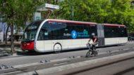 autobús H16 punt de recàrrega