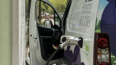 punt recàrrega vehicle elèctric
