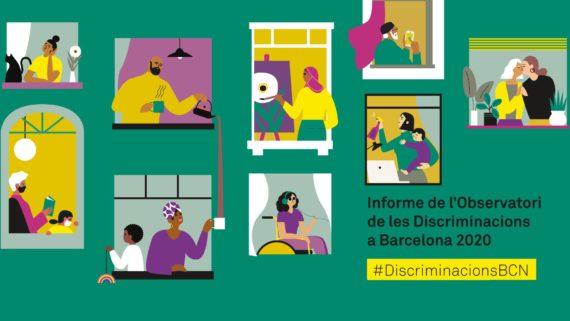 l'informe 2020 de l'Observatori de les discriminacions a Barcelona