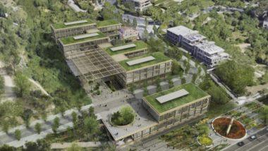 Nou Centre de recerca, CaixaResearch Institute, fundació La Caixa, Cobertura ronda de dalt