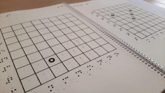Prova en braille.
