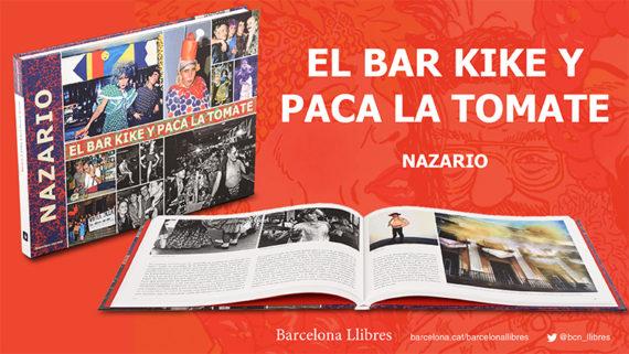 Imatges del llibre 'El bar Kike y Paca la Tomate'