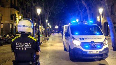 Dispositiu policial nocturn