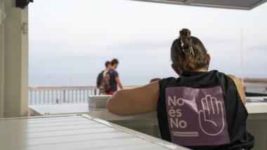 BCNantimasclista, violències masclistes, punt d'informació, antimasclista, Barcelona, feminismes