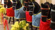 Cavallets Cotoners a l'exposició del Seguici Popular per la Mercè 2020