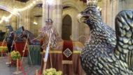 L'Àliga, el Lleó i la Mulassa a l'exposició del Seguici Popular per la Mercè 2020