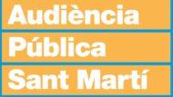 Grafisme de l'Audiència Pública de Sant Martí