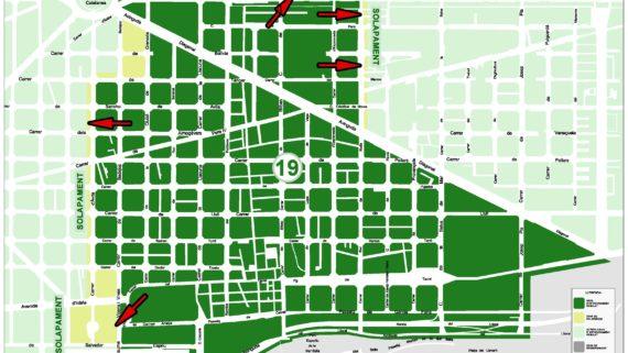 Mapa de la Zona 19