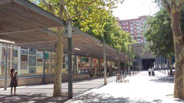 plaça dels porxos, sant martí de provençals, barcelona