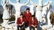 Membres de la selecció de natació que va participar a les Olimpiades de 1972
