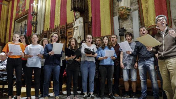 Barcelona 29.04.2019 Medalla d'Or al  Mèrit Cultural a Dolors Bona i Assumpció Malagarriga