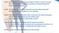 Infografia amb el nom dels ponents a la Jornada.