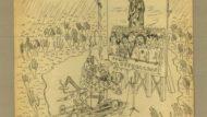 Dibuix Bartolí sobre els refugiats