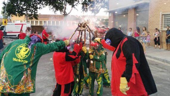 Imatge d'arxiu de la Festa Major de la Via Trajana, any 2016