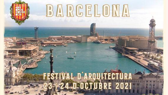 Postal genèrica del Festival d'arquitectura 2021.
